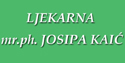 LJEKARNA mr.ph. JOSIPA KAIĆ logo